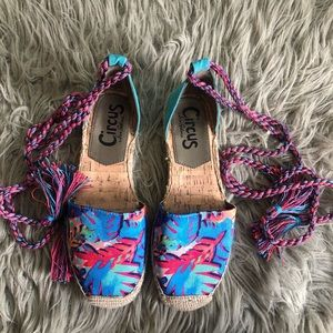 Colorful espadrilles